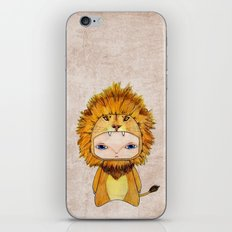 A Boy - Lion iPhone & iPod Skin