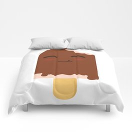 Happy ice cream stick Comforters