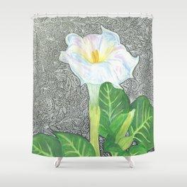 Datura2 Shower Curtain