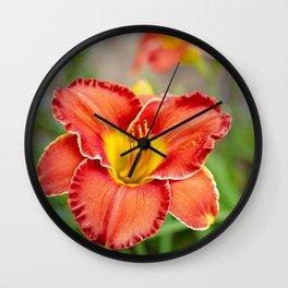 Garden Sunshine Wall Clock