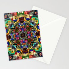 Colorful Abstract Design Stationery Cards