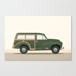 British Army Morris Traveller Canvas Print