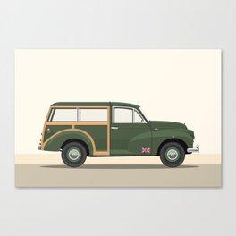 British Army Morris Traveller Canvas Print