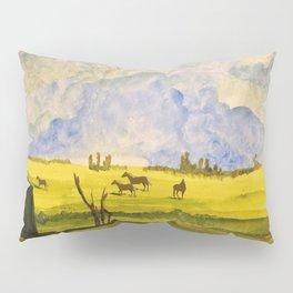 A day in the prairies Pillow Sham
