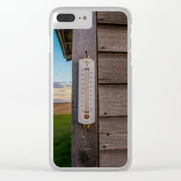 A Cool Temperature Clear iPhone Case