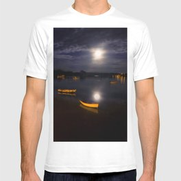 Full moon on Biscay Bay T-shirt