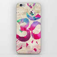 om iPhone & iPod Skins featuring OM by Pranatheory