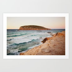 MEDITERRANEAN WAVES Art Print