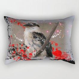 Laughing Kookaburra Rectangular Pillow