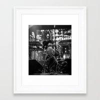 erykah badu Framed Art Prints featuring Erykah by Dee Dwyer Art