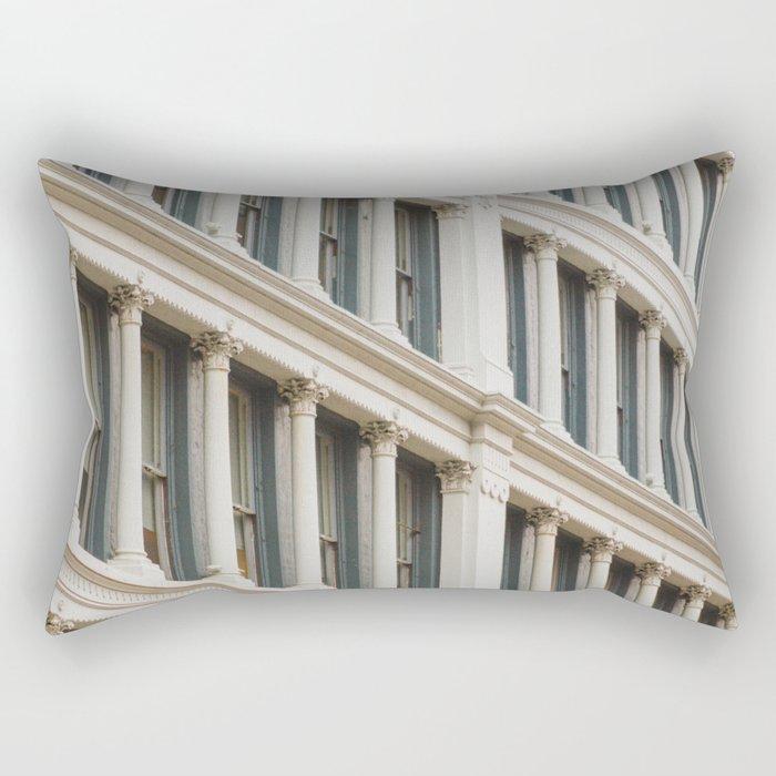 Column by Column in Soho Rectangular Pillow