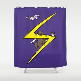 Ms. Marvel's Sloth Shower Curtain