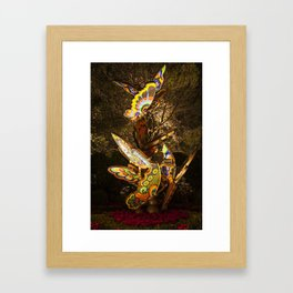 Butterflies, Wynn Entrance, Las Vegas, Nevada Framed Art Print