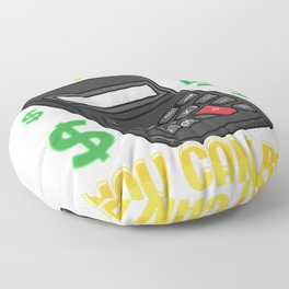 Be Audit You Can Be Funny Accountant Auditor Pun Floor Pillow
