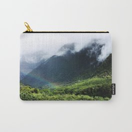 New Zealand's beauty *Fox Glacier's Tropical Forest Carry-All Pouch