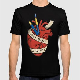 Head, heart & hustle T-shirt