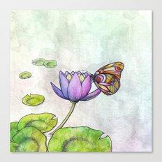 Serene Bloom Canvas Print