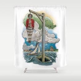 Captain Kiddless Variant Shower Curtain