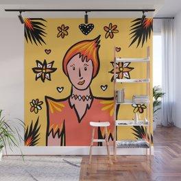 Glamazon Girl: Fuego Wall Mural