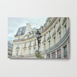 Haussmannian Building in Paris Metal Print