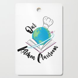Our Kitchen Classroom Logo Cutting Board