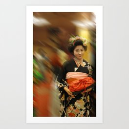 Photography from Japan by Sam Ryan Art Print