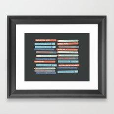 Music Snob Framed Art Print