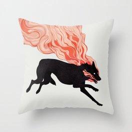 Cinders Throw Pillow