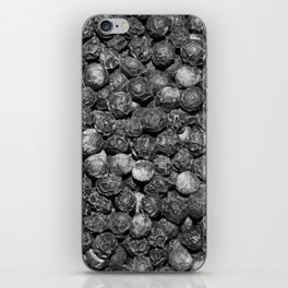 Peppercorn BW iPhone Skin