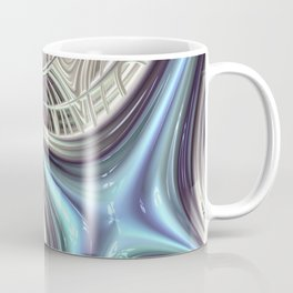 Cosmic Orchid - Fractal Art Coffee Mug