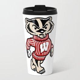Bucky Badger Travel Mug