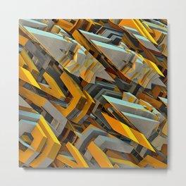 Transformer Fish Metal Print