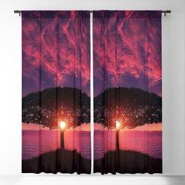 Sunset On The Sea Blackout Curtain