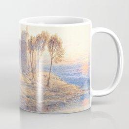12,000pixel-500dpi - Myles Birket Foster - Linlithgow Castle - Digital Remastered Edition Coffee Mug