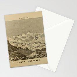 Lunar Landscape Stationery Cards