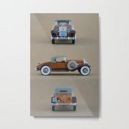 Mini cars, photography Metal Print