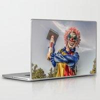clown Laptop & iPad Skins featuring CLOWN by Steve Zar