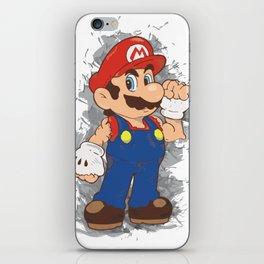 Street Fighter Mario iPhone Skin
