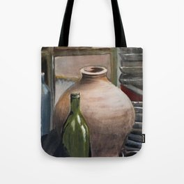 Pink Vase Tote Bag