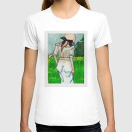 Girl in the Grass II T-shirt