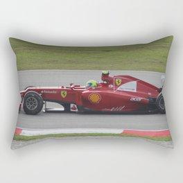 The Red Arrow. Rectangular Pillow