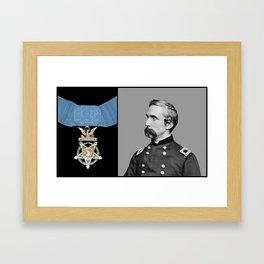 General Chamberlain And The Medal Of Honor Framed Art Print