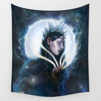 tolkien Wall Tapestries featuring Varda, Queen of the Stars.  Tolkien by Dymond Starr