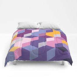 Violet Pattern Comforters