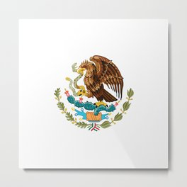 coat of arms of Mexico Metal Print