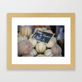 Market 8 Framed Art Print