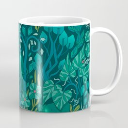 Emerald forest keepers. Magic woodland creatures. Coffee Mug