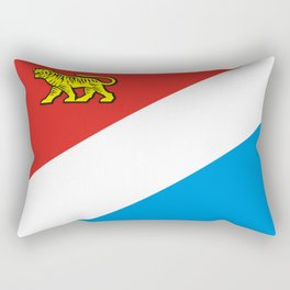 flag of Primorsky Rectangular Pillow