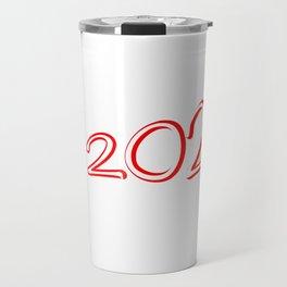 Red 2020 Megaphone Travel Mug