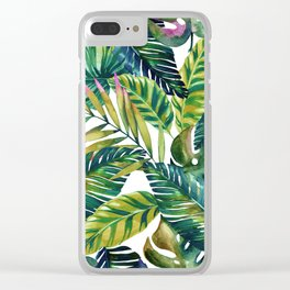 banana life Clear iPhone Case